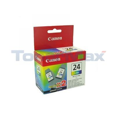 CANON BCI-24 INK TANK COLOR TWIN PACK